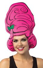 Comic Beehive Foam Wig Adult Halloween Insect Colorful Party Puff Rasta Imposta