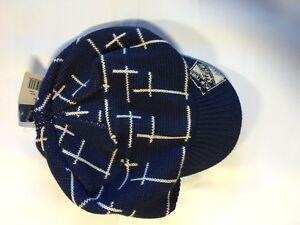 New York Rangers Knit Beanie Toque Winter Hat Skull Cap - NHL new Visor