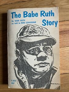 The BABE RUTH Story 1969 Scholastic Paperback Book YANKEES