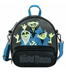 NWT Disney Haunted Mansion Hitchhiking Ghosts Loungefly Crossbody Bag