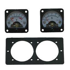 Dual mounting bracket to suit panel meter gauges,4WD, Caravan,Boat,installation