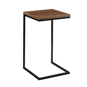 Mainstays Side C Table, Canyon Walnut Finish