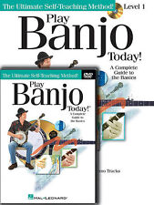 Play Banjo Today Lessons Book + Dvd Set New