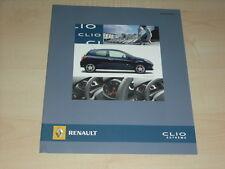 40376) Renault Clio Extreme Prospekt 03/2008