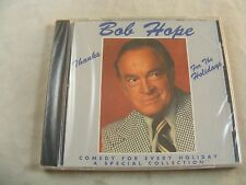 Bob Hope - Thanks for the Holiday's - Comedy of Every Holiday CD - NEW !