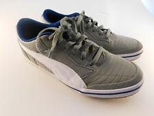 PUMA Men s Astro Sala Soccer Shoe Men s Size 7.5 M Burnt Olive   White 0c54e11cf
