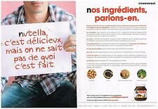 Publicité Advertising 2013 (2 pages) Nutella