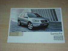 49492) Hyundai Santa Fe Österreich Prospekt 200?
