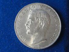 1911 D  BAYERN GERMANY 3 MARK SILVER COIN HIGH GRADE! #2