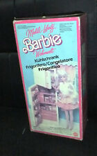 MATTEL BARBIE Living Pretty Refrigerator/Freezer TOY (NOT USED) 1987