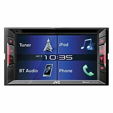 "JVC 2-DIN In-Dash DVD/CD/AM/FM Bluetooth Car Stereo Receiver w/ 6.2"" Touchscreen"