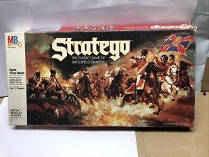 Stratego Board Game 1986 Milton Bradley 100% Complete