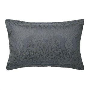 Bedeck Of Belfast Allegro Oxford single Pillowcase, Midnight