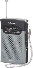 Radioshack 1200586 AM FM Pocket Radio (PL1-2285-1200586-UG)