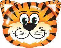 "Tickled Tiger 30"" Foil Mylar Balloon Safari Zoo Jungle Party Theme"