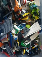 1kg Genuine LEGO Bricks Parts Wheels Job Lot Starter Kit Bundle MIX 1 KILO