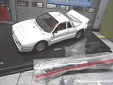 LANCIA 037 Rally Gr.B Rallye Spec white plainbody + Wheelset für Umbau IXO 1:43