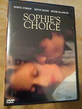 Sophie's Choice DVD 1998