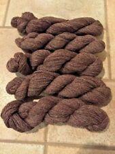 Alpaca yarn (100% alpaca) - 5 skeins rose gray
