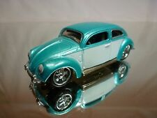 MAISTO VW VOLKSWAGEN BEETLE OVAL - BLUE/GREEN 1:50? - GOOD CONDITION