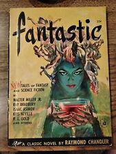 FANTASTIC VOL. 1 NO. 1 (SUMMER 1952) RAY BRADBURY - VIRGIL FINLAY ART PULP