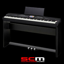 CASIO PRIVIA PX360 BLACK DIGITAL PIANO 88 WEIGHTED KEYS USB W/ STAND & 3 PEDALS