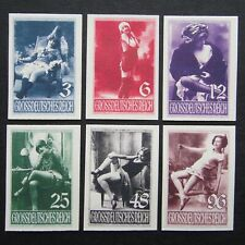 Germany Nazi 1935 1943 1944 Stamps MINT #4 Women OhLaLa Girls Third Reich WWII G