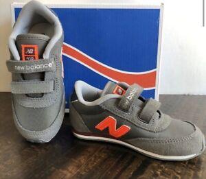 NIB NEW BALANCE Classic Easy To Close Toddler Sneaker Sz. 8