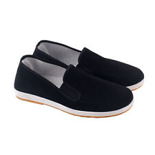 Cotton Sole Mens Kung Fu Closed Toe Slip On Shoes