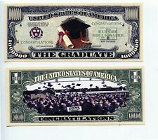GRADUATION    MILLION   DOLLAR  BILL