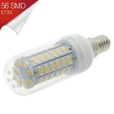 Bombilla LED E14 Mignon 56 SMD 5730 360º Blanco Cálido 110-240V - Consumo 14W