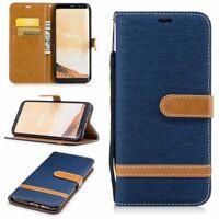Samsung Galaxy S8 Plus Étui Coque Téléphone Portable Protection Sac Bleu