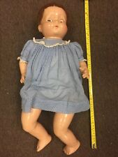 Vintage Large Effanbee Composition Baby Doll 23""