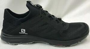 Salomon Mens Amphib Bold 2 Sandal Shoe L41303800 Blk/Blk/Quarry Size 10