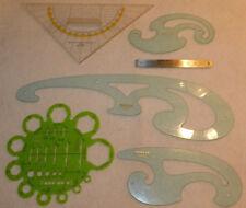 vintage NESTLER 4119 1740/1-2-3 ARISTO GEO REGEL regle à dessin calcul SCHABLONE