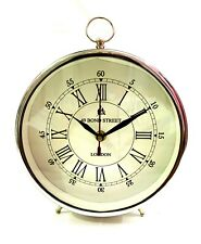 Antique Maritime Nautical Style Desk Clock Analog Roman Numeral Clock Decor