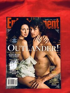 OUTLANDER SAM HEUGHAN CAITRIONA BALFE MARCH 4 2016 NO LABEL ENTERTAINMENT WEEKLY