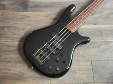 1989 Rockoon (by Kawai/Schaller) KRB-69A Active PJ Bass (Black)