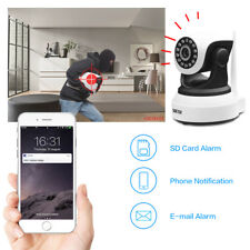 Night Vision 720P Wireless Wifi Pet Baby Monitor Two Way Audio Alarm IP Camera