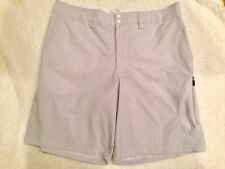 Champion Shorts Men's Size 38 Pinstripe Gray/white Golf Shorts