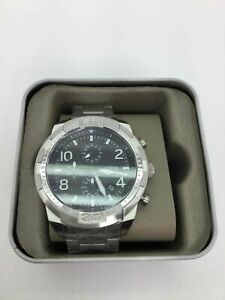 NIB Fossil St. Steel Chronograph Wrist Watch