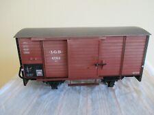 LGB Spur G 4235S Gedeckter Güterwagen Metallradsätze s.Foto o.OVP WH7691