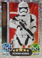 Topps Star Wars Das Erwachen der Macht Force Attax Sturmtruppe 220 Power Bonus