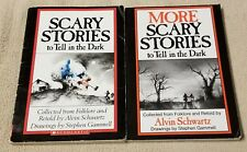 Lot 2 SCARY STORIES to Tell in the Dark & More Books ALVIN SCHWARTZ Original Art
