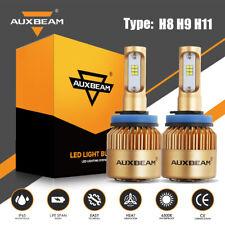 AUXBEAM F-S3 H11 H8 H9 LED Headlight 72W 8000LM Kit Bulbs 6500K Fog High Power