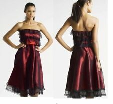 Teatro Bandeau Polyester Knee Length Dresses for Women
