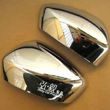 Chrome Side Review Mirror Cover Pair Fit Mazda CX-5 2013 2014 2015 2016