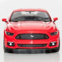 Ford Mustang GT 2015 Red, Welly 24062, scale 1:24, model adult boy gift