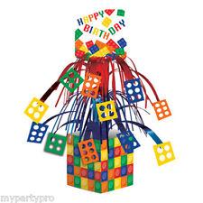Lego inspired, Building Blocks CENTERPIECE Birthday party supplies