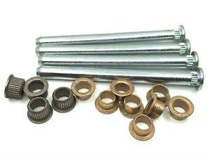 door hinge pins pin bushing kit - zinc pins fits Chevy Pontiac